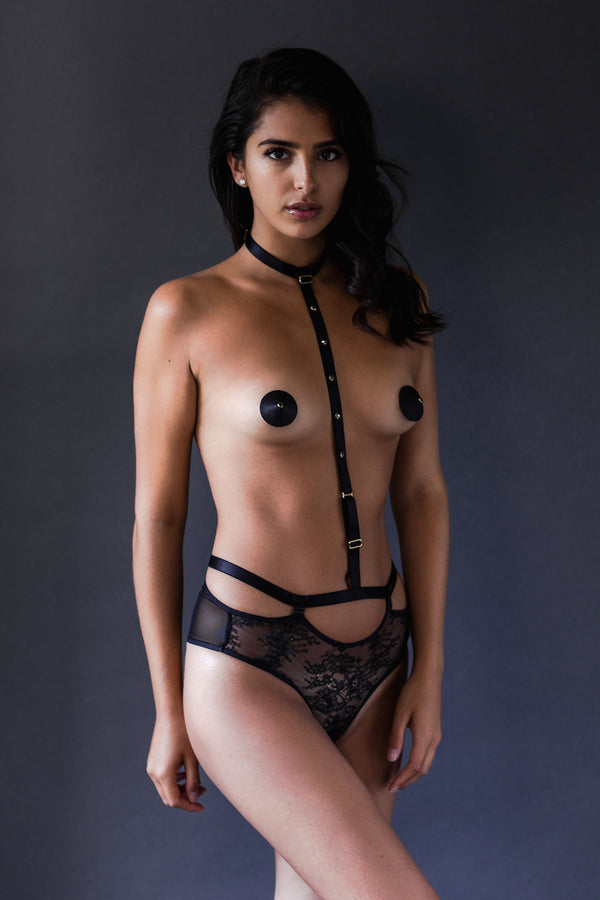 Gigi Harness Thong - Tatu Couture - Anya Lust