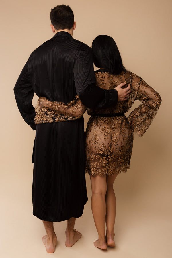 Gilded Age His & Hers Robes | Anya Lust Lingerie