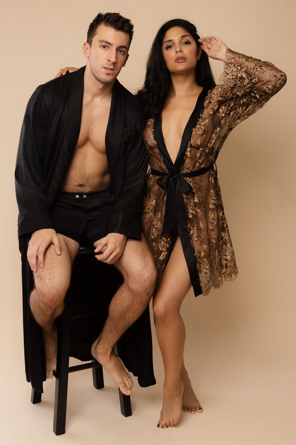 Gilded Age His & Hers Robes | Anya Lust