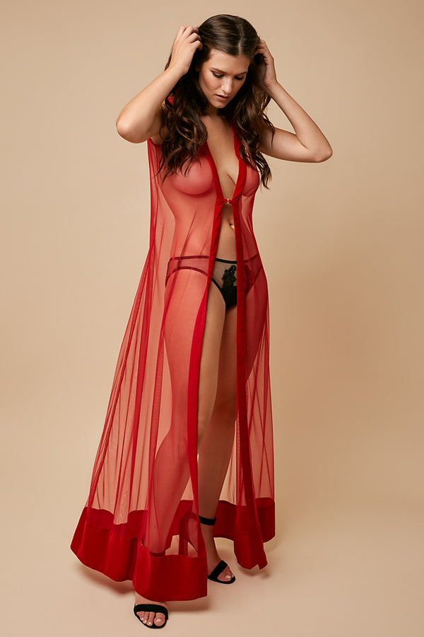 Goddess of Love Sheer Robe