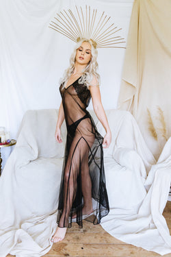 Goddess of Night Sheer Nightdress