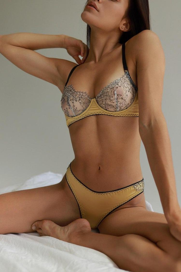 Goddess Gold Bra