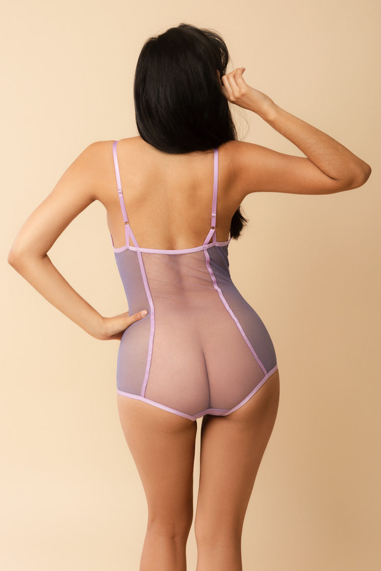 Kelani Sheer Bodysuit | See Through Lingerie