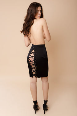 Keyhole Skirt | Murmur | Anya Lust Date Night
