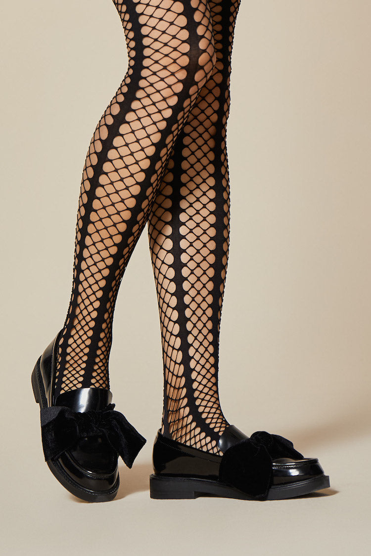 Lady Rock Fishnet Stockings | Fiore | Anya Lust Lingerie