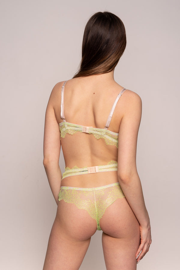 Lime Me Lace Bra