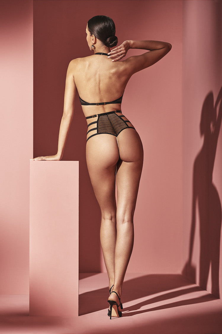 London High-Waisted Pearl Panty