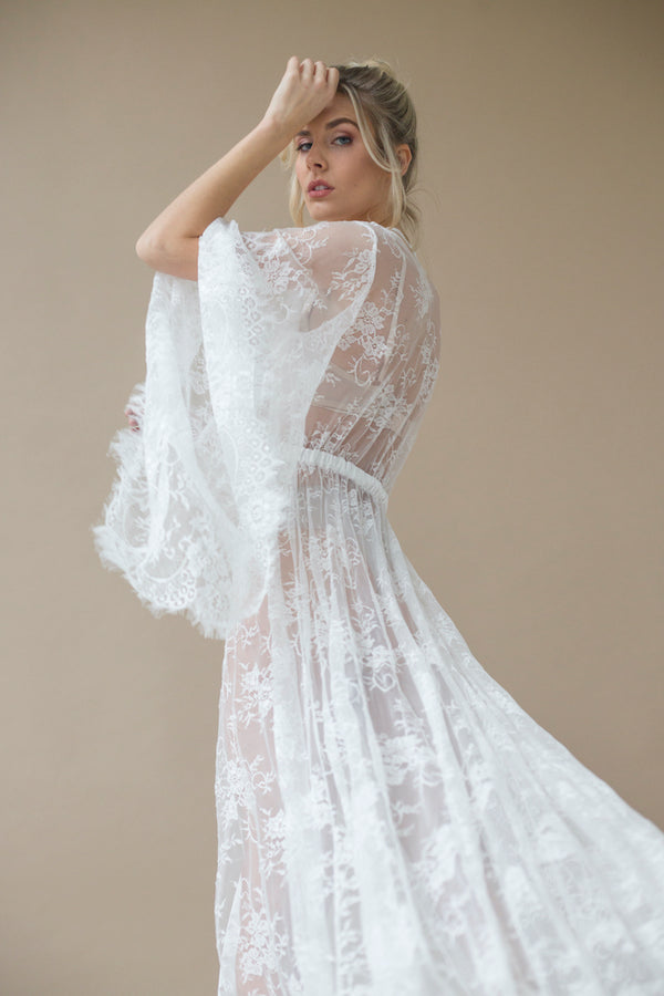 Lumina Lace Gown