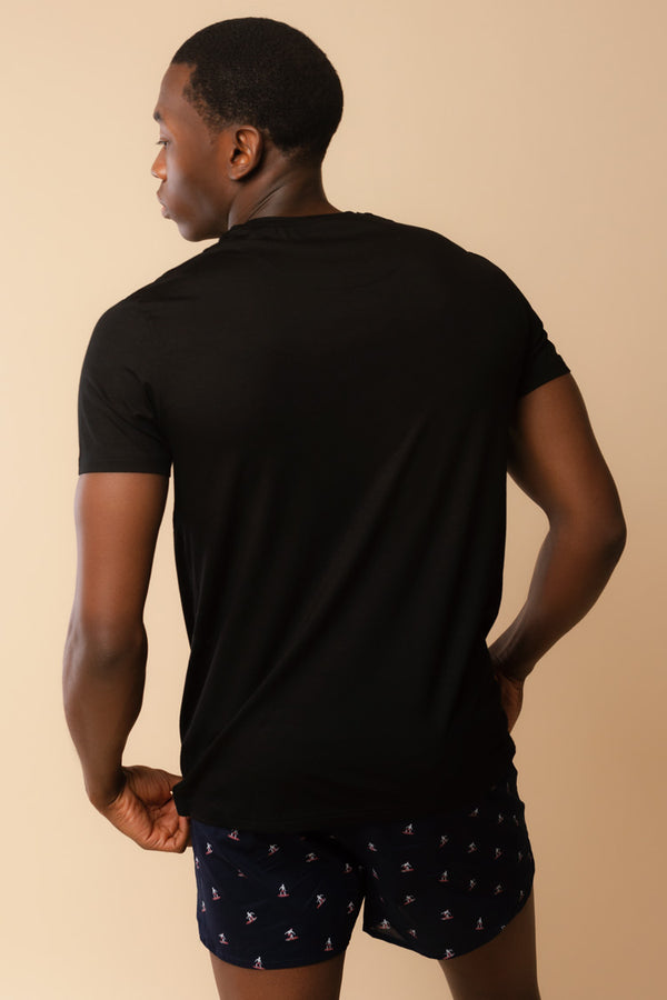 Men's Short Sleeve Shirt Black
