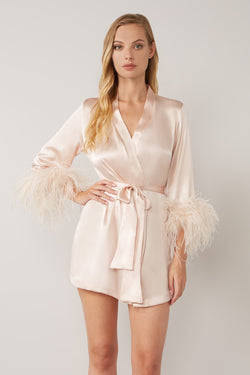 Mia Silk Robe