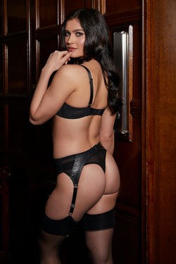 Montana Leather Thong | Something Wicked | Anya Lust Luxury Lingerie