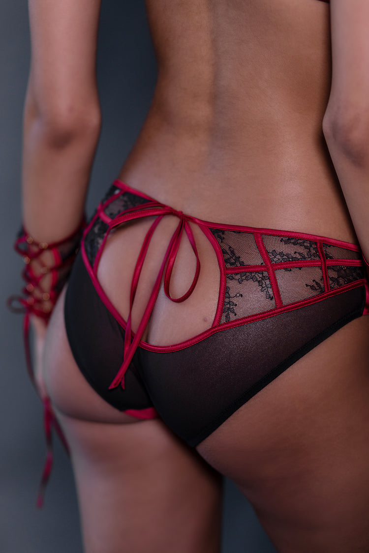 Odette Panty | See Through Underwear | Tatu Couture | Anya Lust