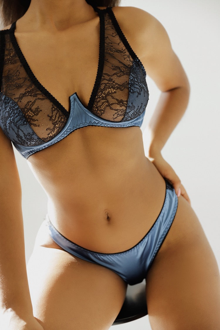 High Apex Silk Bra | Date Night Lingerie