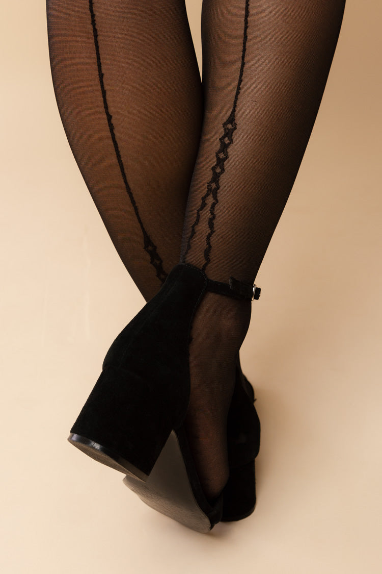 Provoke Backseam Stockings | Fiore Hosiery | Anya Lust