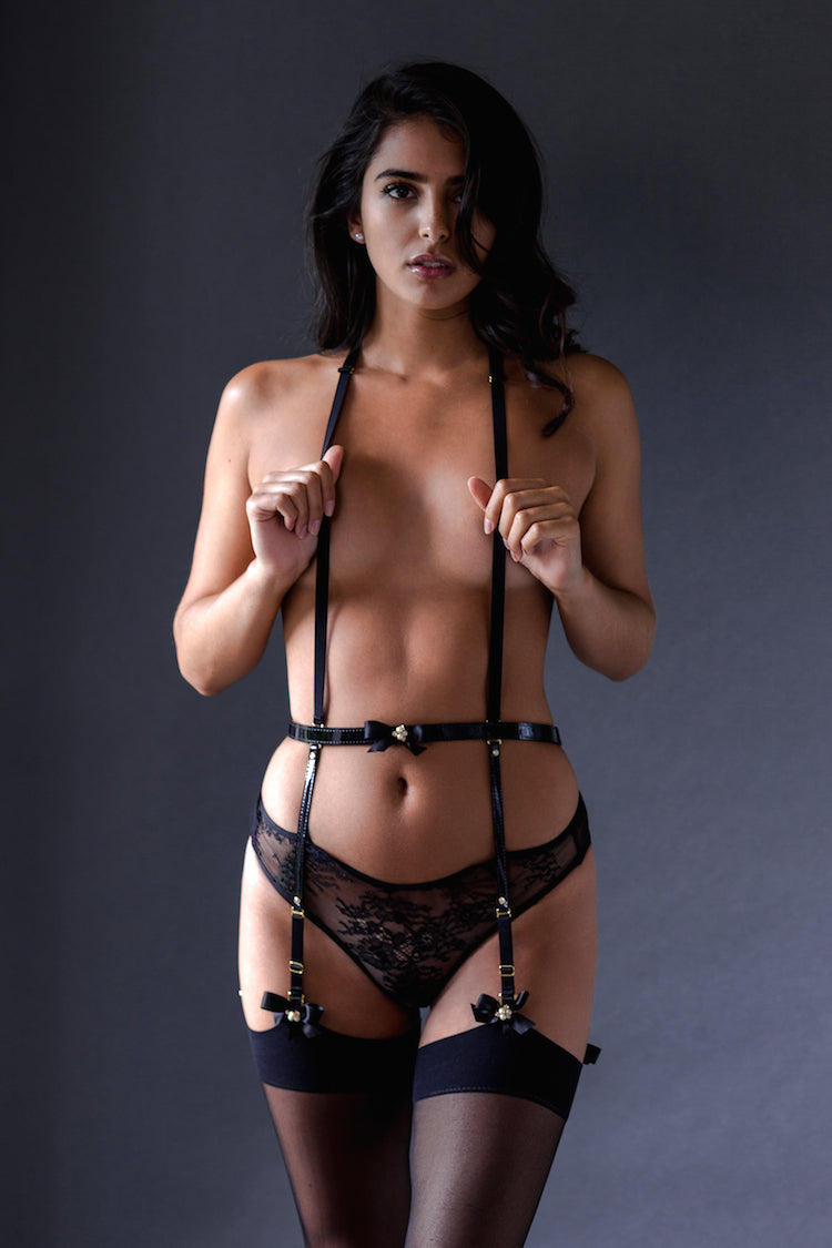 Ritzy Garter Belt Harness - Anya Lust