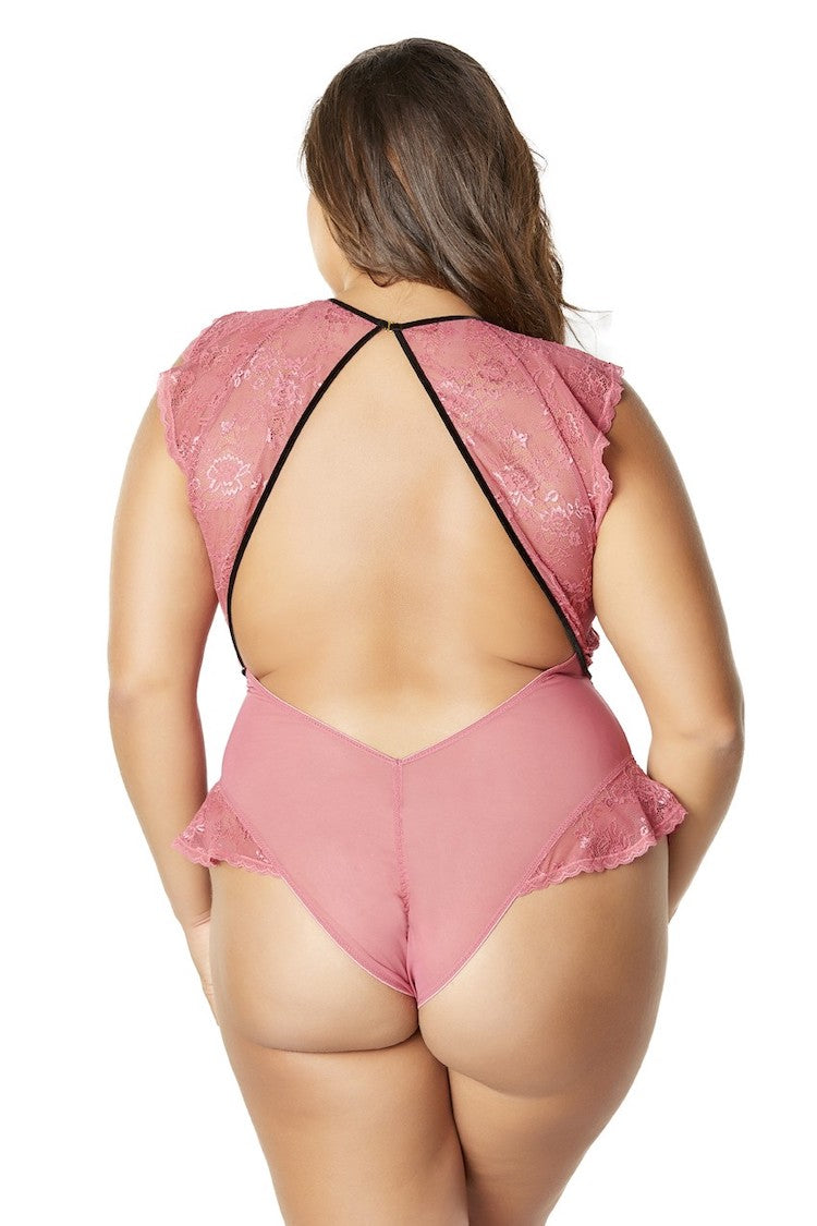 Ruby Harness Plus Size Bodysuit