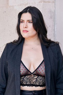 plus size bralette | luxury lingerie