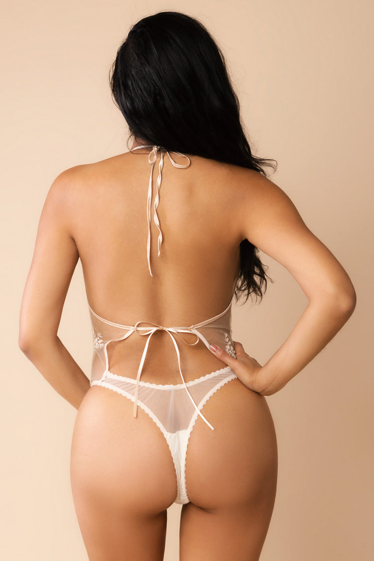 Serafina Sheer Bodysuit | Anya Lust Luxury Lingerie