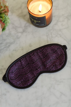 Serena Violet Sleep Mask