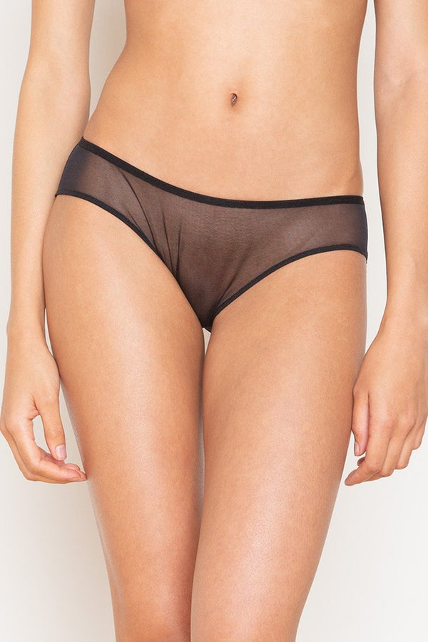 Whisper French Brief | Sheer Underwear | Only Hearts | Anya Lust