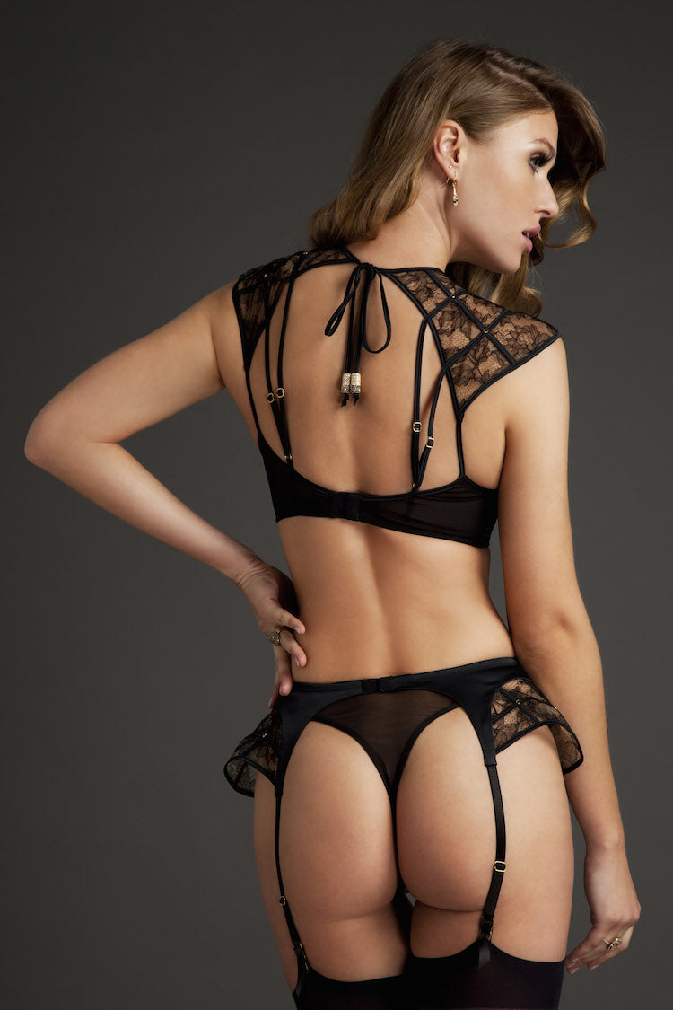 Xena Lace Thong - Anya Lust Luxury Lingerie Boutique