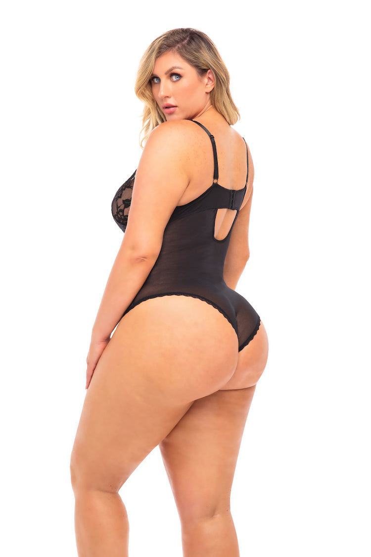 Yvette Plus Size Bodysuit