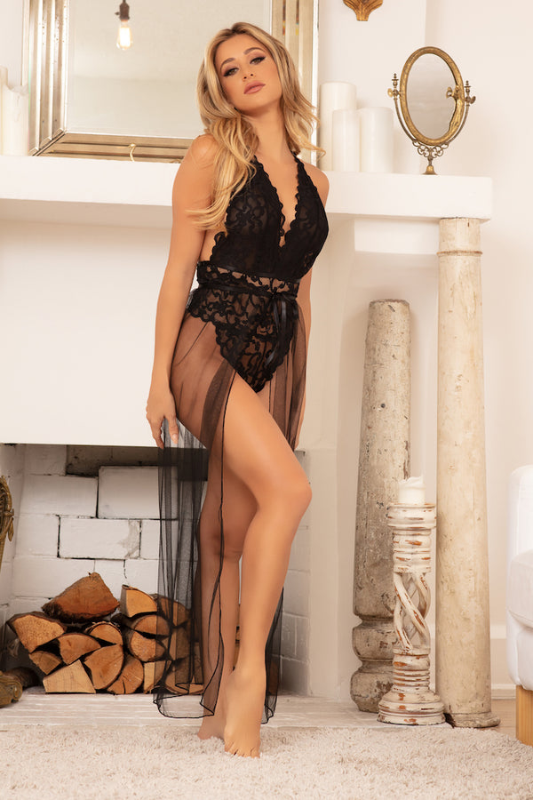 Jeana Sheer Lingerie Skirt