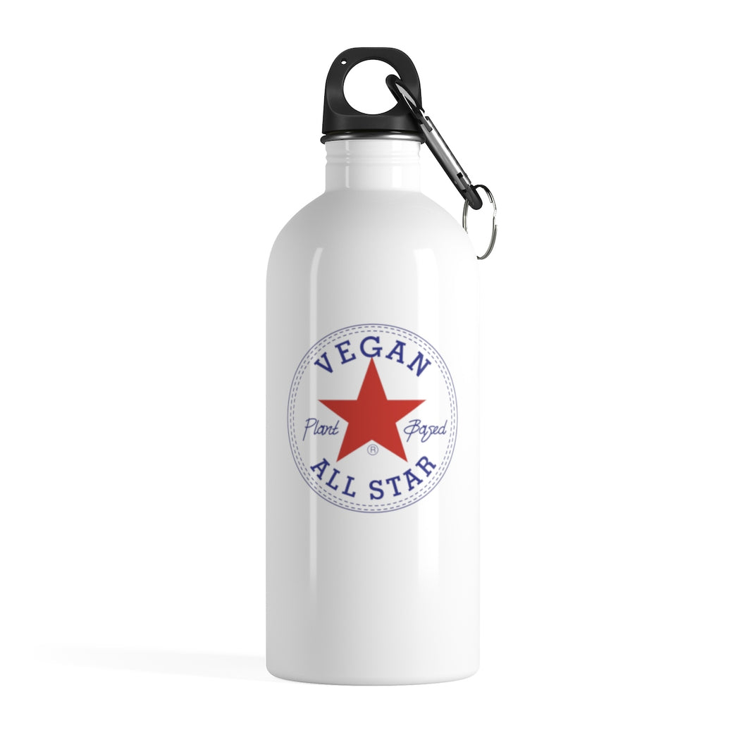 All Star Vegans Stainless Steel Water Bottle - AllStarVegans