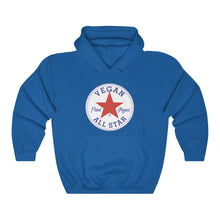 Load image into Gallery viewer, All Star Vegans Star Unisex Hooded Sweatshirt - AllStarVegans