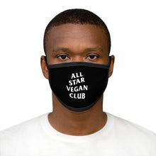 Load image into Gallery viewer, All Star Vegan Club Face Mask
