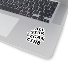 Load image into Gallery viewer, All Star Vegan Club Kiss-Cut Stickers - AllStarVegans