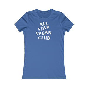 All Star Vegan Club Women's Tee - AllStarVegans