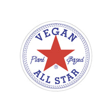 Load image into Gallery viewer, Vegan All Star Kiss-Cut Stickers - AllStarVegans
