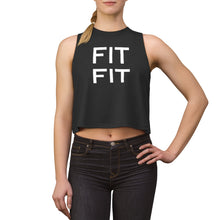 Load image into Gallery viewer, FIT FIT Women's Crop top - AllStarVegans