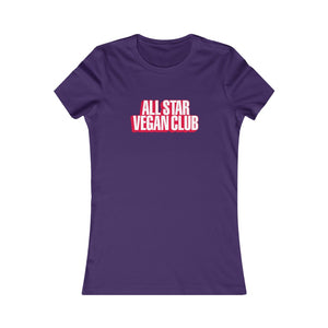 All Star Vegan Club 3D Women's Tee
