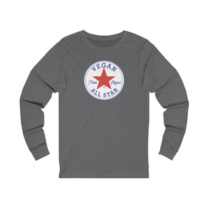 All Star Vegans Star Unisex Long Sleeve Tee - AllStarVegans