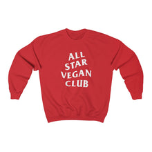 Load image into Gallery viewer, All Star Vegan Club Unisex Crewneck Sweatshirt - AllStarVegans