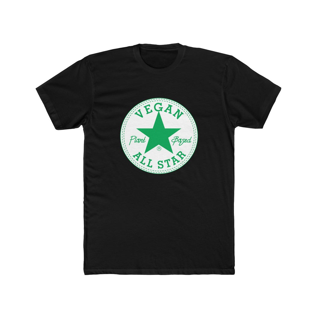 All Star Vegans St. Patty's Edition Short-Sleeve Unisex T-Shirt black - AllStarVegans