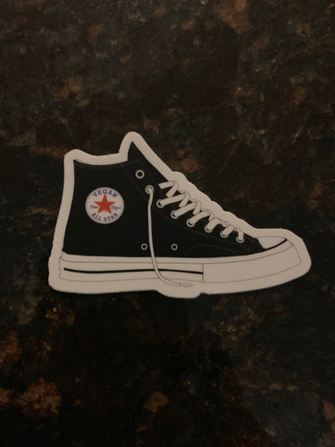 Vegan All Stars Sneaker Sticker - AllStarVegans