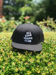 All Star Vegan Club Snapback - AllStarVegans