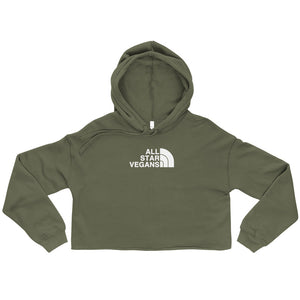 All Star Vegans North Crop Hoodie - AllStarVegans