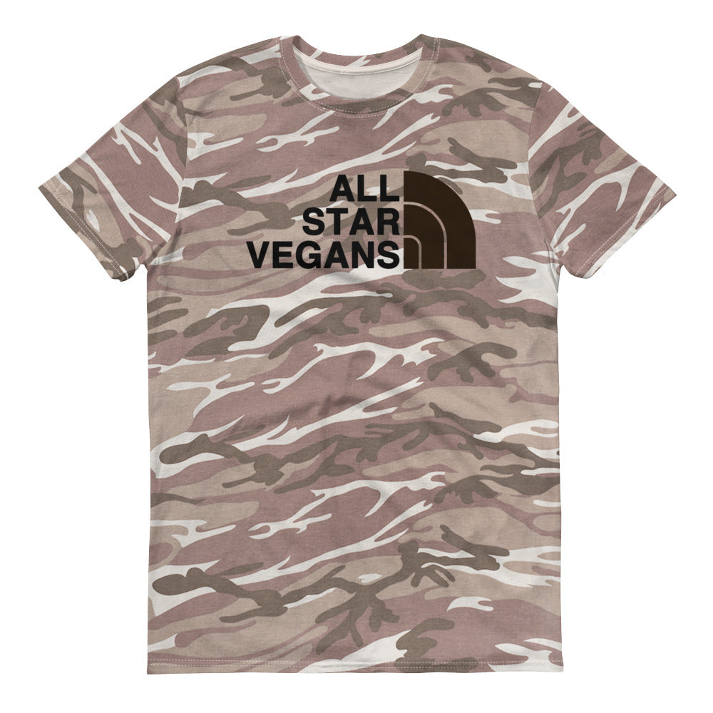 All Star Vegans North Desert Camouflage T-Shirt - AllStarVegans