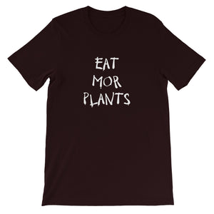Eat Mor Plants Short Sleeve T-Shirt - AllStarVegans