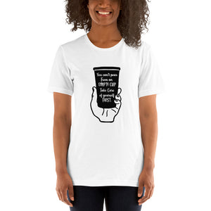 Self Care Short-Sleeve Unisex T-Shirt - AllStarVegans