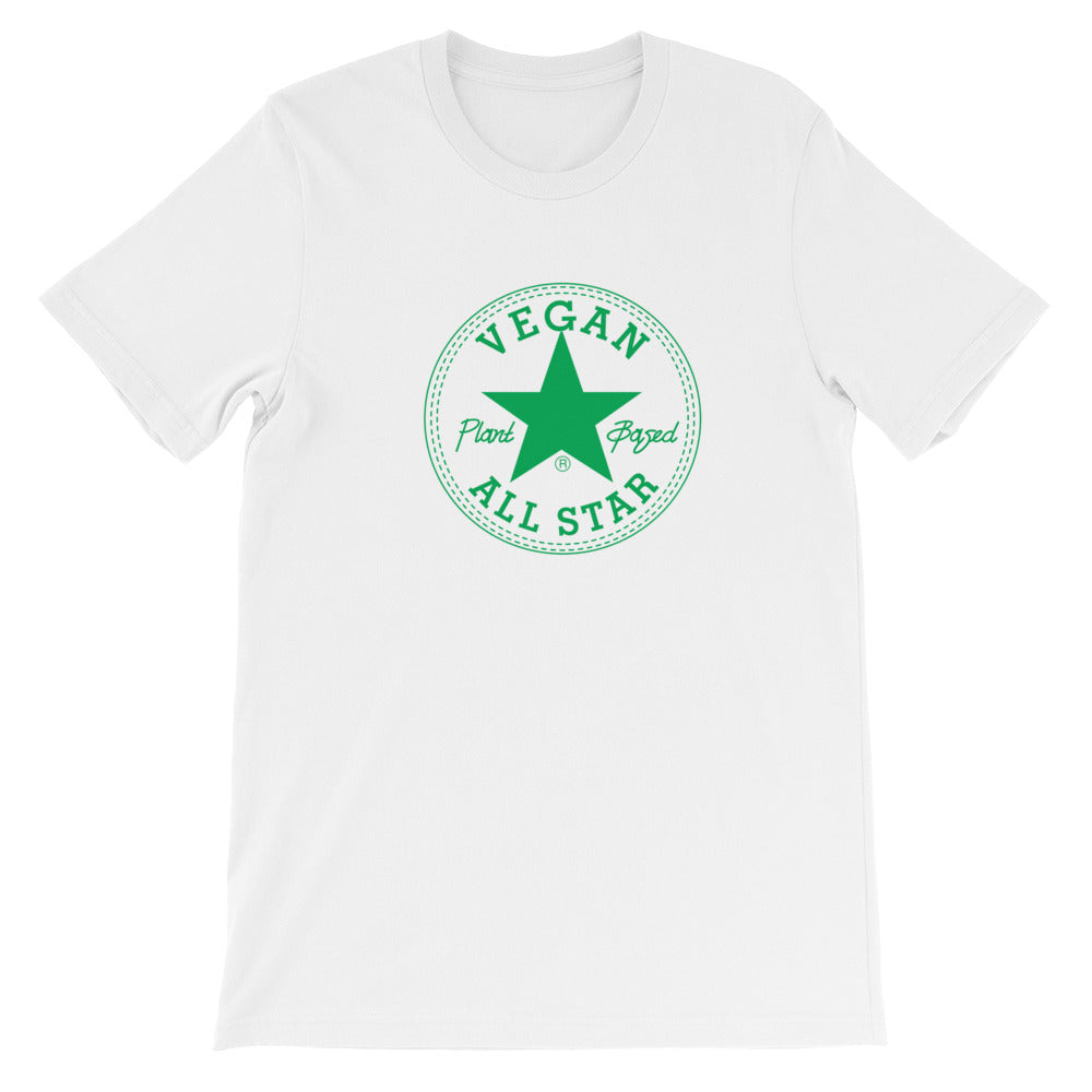 All Star Vegans St. Patty's Edition Short-Sleeve Unisex T-Shirt - AllStarVegans