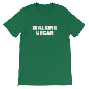 Walking Vegan Short-Sleeve Unisex T-Shirt - AllStarVegans