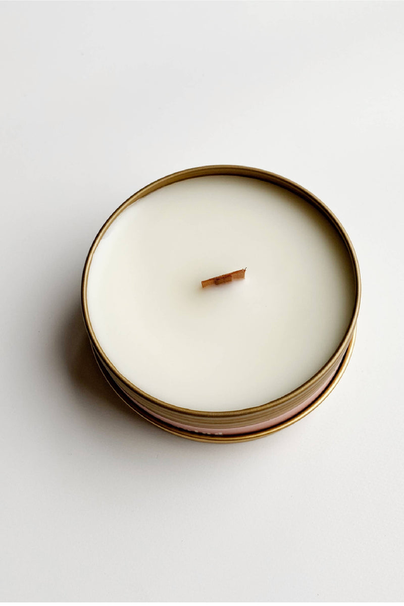 Earl Grey Tea Travel Candle
