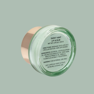 Sweet Mint Lip Scrub