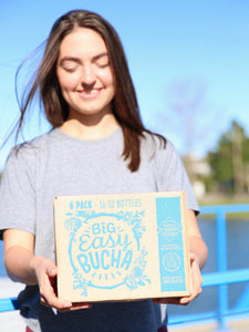 "*CURBSIDE PICK UP ONLY* Big Easy Bucha ""Oops Mystery"" 6-Pack Case"