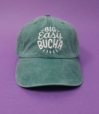 Unisex Big Easy Bucha Embroidered Baseball Cap - Green